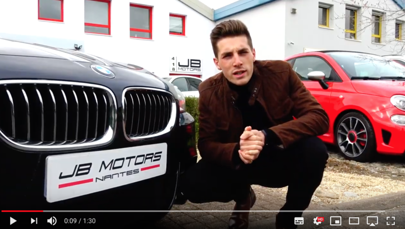 JB MOTORS NANTES SUR YOUTUBE ERWAN TGD